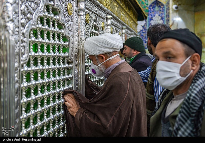 The Shrine of Fatima Masumeh in Qom by Amir Hesaminejad for Tasnim News Agency
